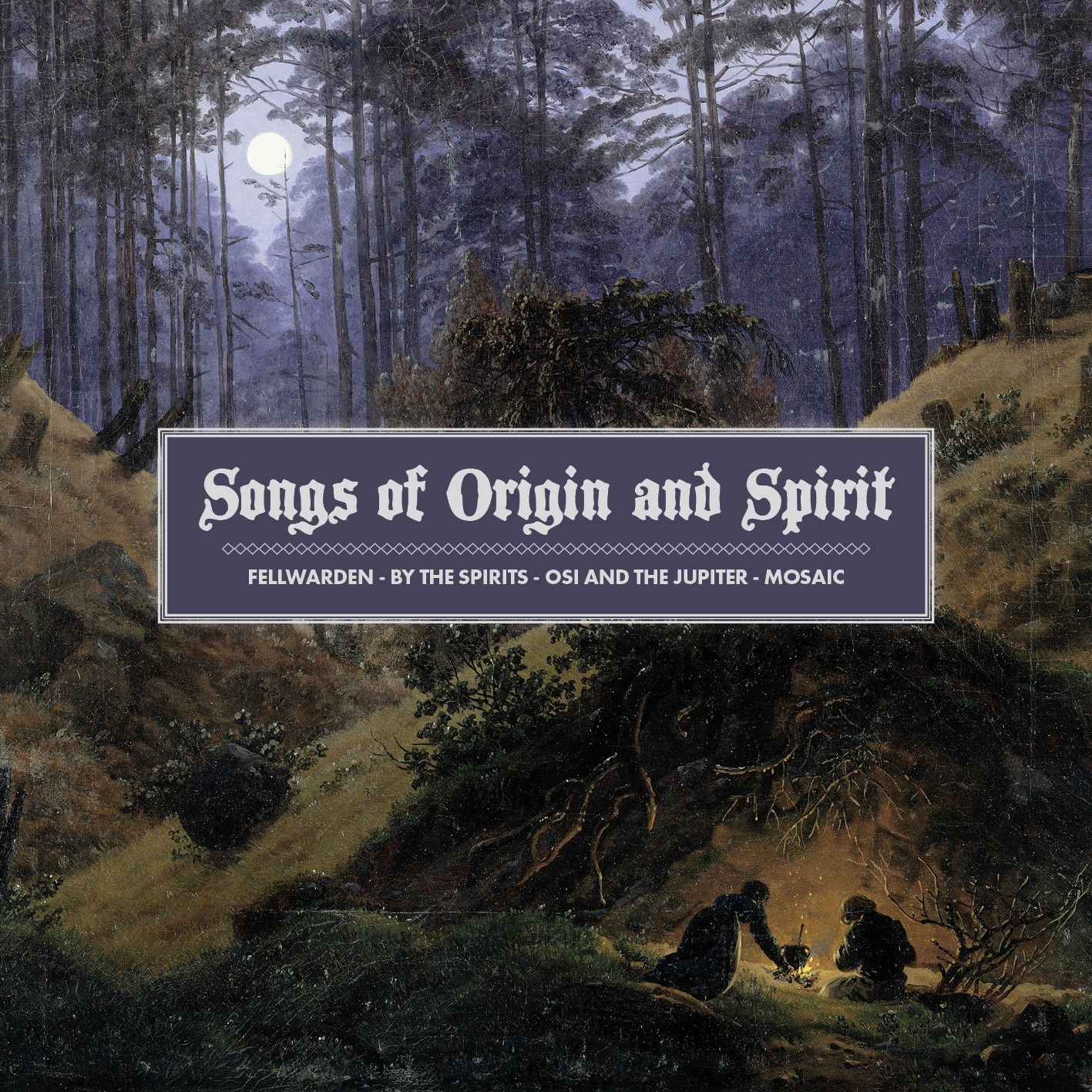 "Full ""Songs of Origin and Spirit"" covert art."